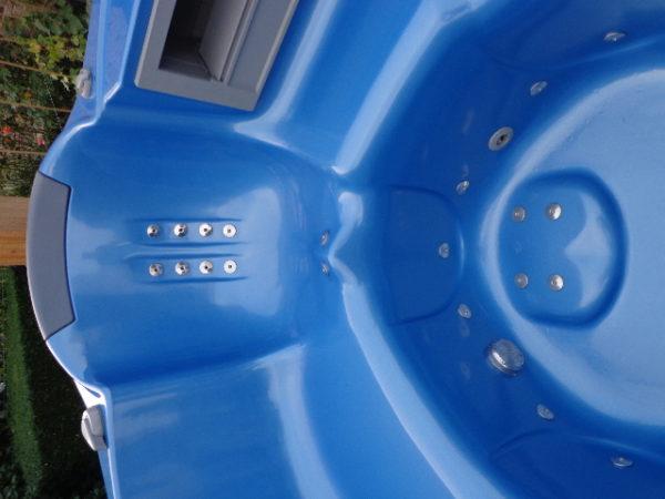 Teuco portable spa model 609 HR (showroommodel!) incl. installatie en bezorging in NL-4340