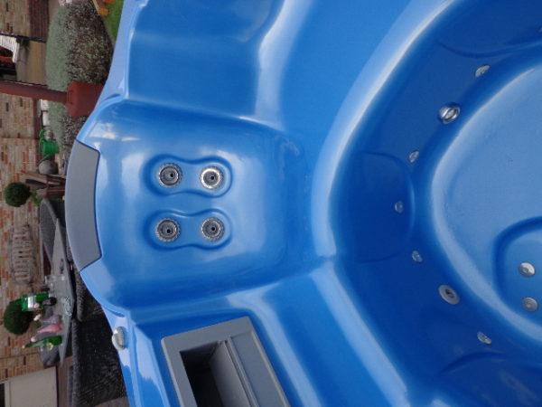 Teuco portable spa model 609 HR (showroommodel!) incl. installatie en bezorging in NL-4333