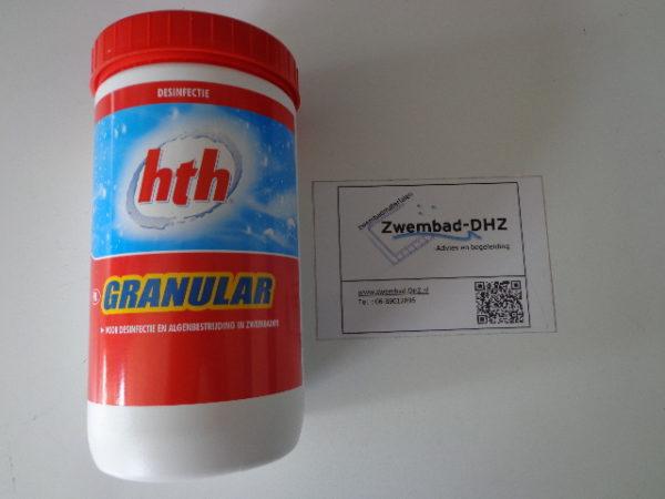 HTH chloorgranulaat 65% / 1 kg (anorganisch) -0