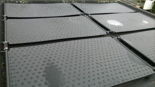 Aqua Easy zonnecollector / 2,00 x 1,10 mtr-3466