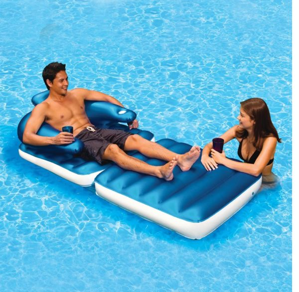 Luchtbed model Pool & Patio Lounger-0