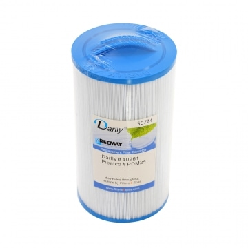 Darlly SC724: Filterdiameter 12 cm / lengte 21 cm / top handle / 3.8 cm FINE male thread (MET STAFFELKORTING!)-0
