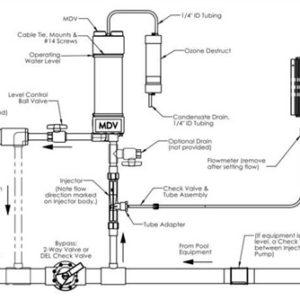 Mixing Degas Vessel voor DEL OZONE Total Eclipse -3684