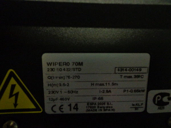 ESPA Wiper0 70M circulatiepomp-3717