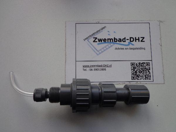 Zelfreinigend chloor injectieventiel, slangaansluiting 6/12 mm-0