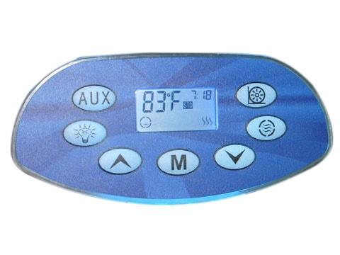 Ethink Spa Pad KL8800 7 pads single color backlit control panel-0
