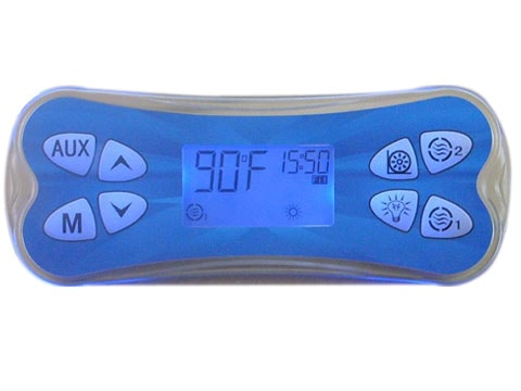 Ethink Spa Pad KL8800 8 pads double color backlit control panel-0