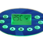 Ethink Spa Pad KL8800 9 pads double color backlit control panel-0