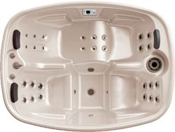 Teuco portable spa model 627 NHR (showroom model) incl. installatie en bezorging in NL-3814