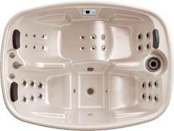 Teuco portable spa model 627 NHR (showroom model) incl. installatie en bezorging in NL-3814