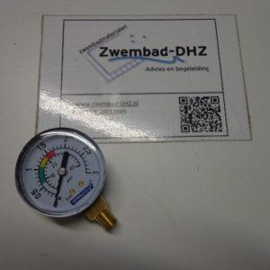 "Manometer (drukmeter) Astral 0 - 3,0 bar / aansluiting 1/8"" draad-0"