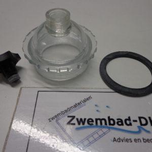 Zichtglas voor deksel voor Astral zandfilter, incl. ontluchting-0