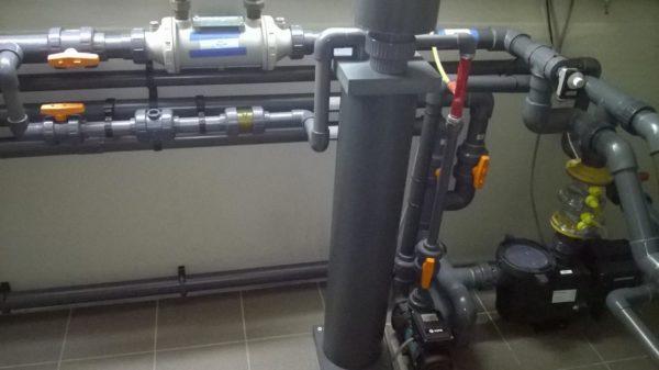 Starline ozonator en ontgassing systeem-0